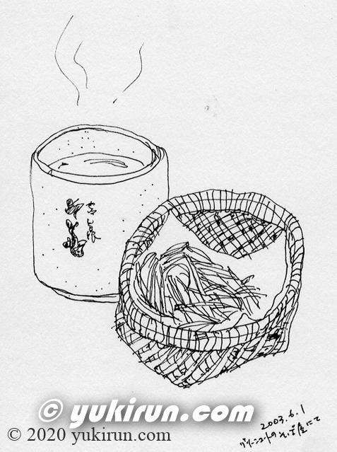 お茶とそばのかりんとう